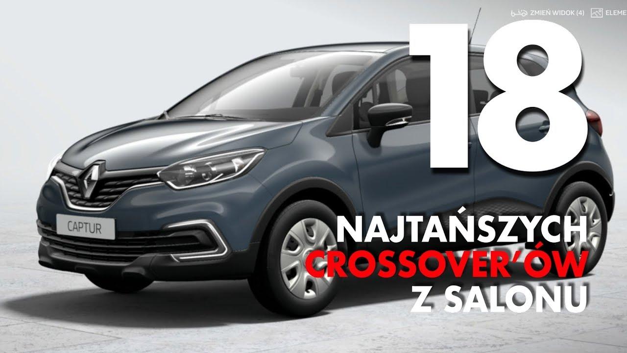 18 najtańszych crossoverów w polskich salonach – #115 TOP10