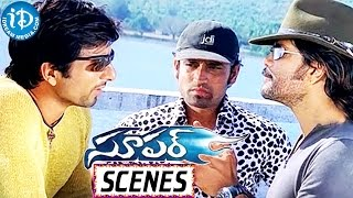 Super Movie Scenes - Nagarjuna And Sonu Sood Scheming A Robbery - Anushka Shetty