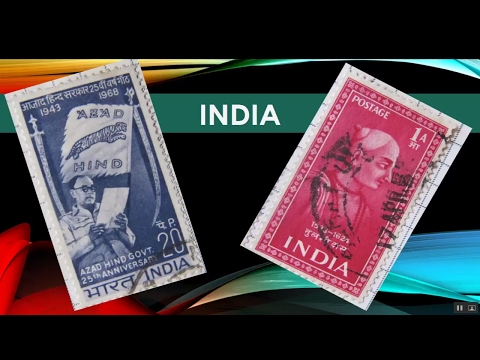 Old Indian Stamps Collection - #stampsworld