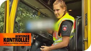Polizei findet PKW-Kennzeichen in LKW: Soll hier betrogen werden?  | Achtung Kontrolle | kabel eins