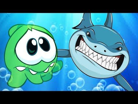 Om Nom Stories - SHARK V/S Om Nom | Cartoon For Kids | Om Nom Hindi