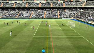 Gameplay FIFA 12 PC - Real Madrid x Milan [ Ultimate Patch ].