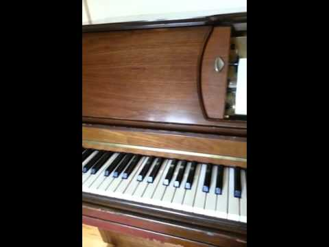 Player Piano Playing