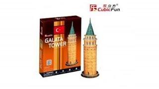 Torre de Gálata - Galata Tower | 3D Puzzle
