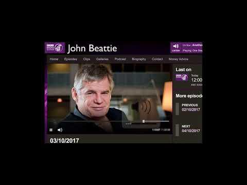 John Beattie Radio Interview on Cyber Security - 3 October 2017
