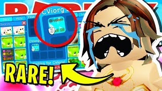 I *PRANKED* THIS ROBLOX BUBBLEGUM SIMULATOR PLAYER BY *STEALING* HER RARE GRYPHON PET!! [UPDATE 25]