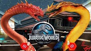 Гигантофия САМАЯ большая Змея в МИРЕ почти Jurassic World The Game
