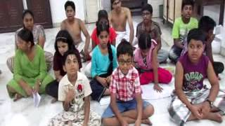 Part 2 Children Summer Camp Reciting Desika Stotra learnt by them at Mumbai