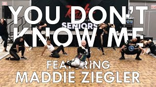 Jax Jones - You Don't Know Me ft Maddie Ziegler | Radix Dance Fix Ep 6 | Brian Friedman Choreo