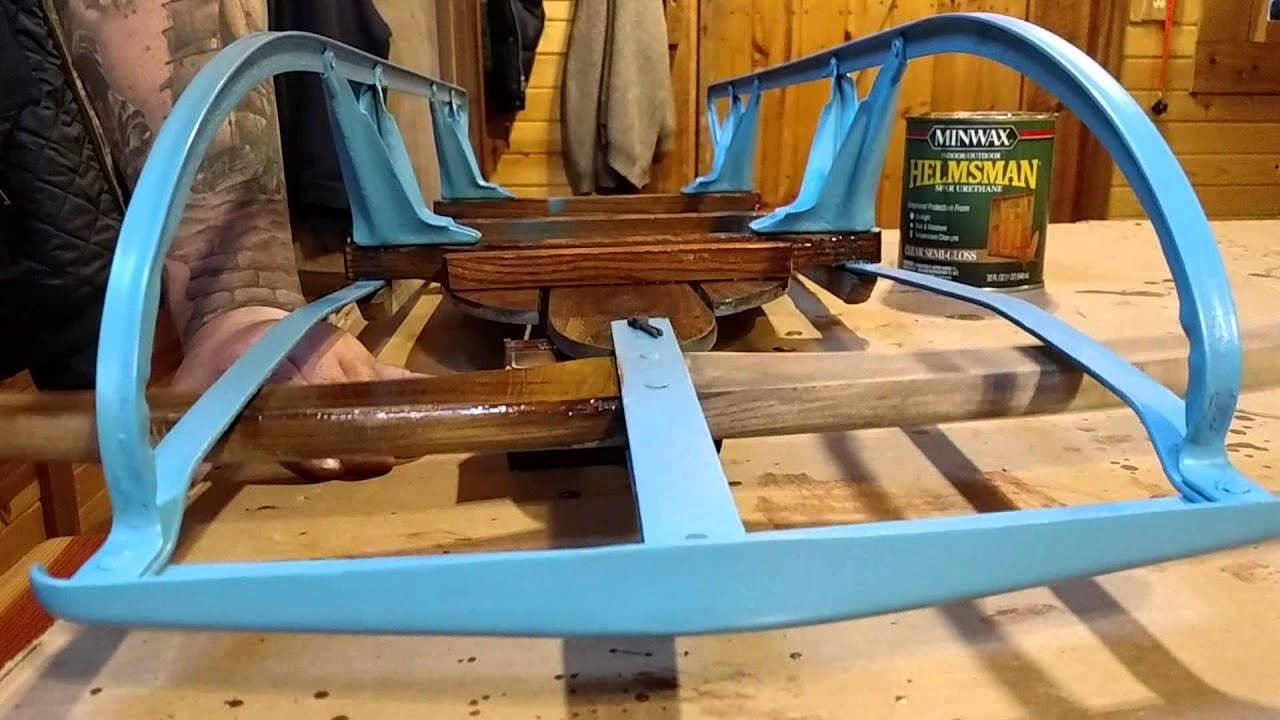 Restoring Old Rusty Sleds Youtube