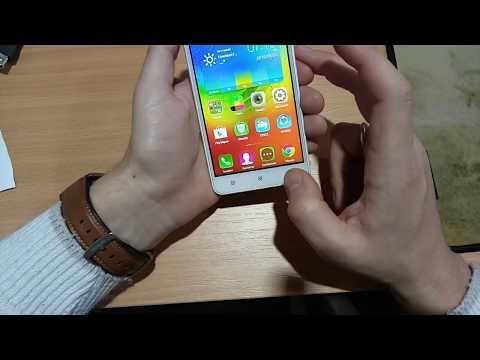 Сброс настроек на смартфоне Lenovo A5000. Hard Reset