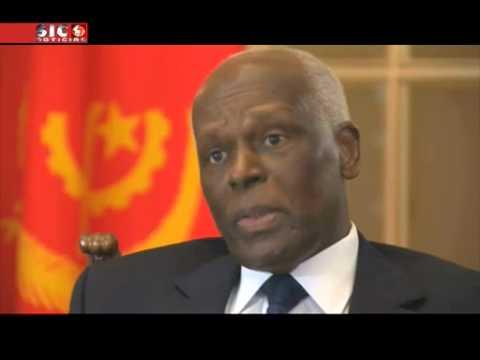 Primeira grande entrevista concedida pelo Presidente de Angola em 22 anos   SIC Notícias