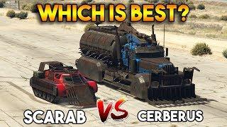 GTA 5 ONLINE : CERBERUS vs SCARAB (WHICH IS BEST?) thumbnail