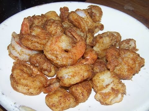 blacken-snapper-fried-shrimp-scallops-rice-salad-4/5-chef-john-the-ghetto-gourmet-show