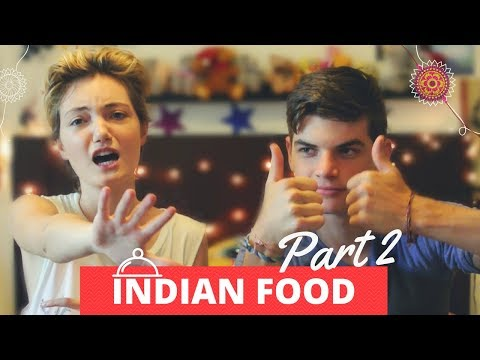 Thumbnail: Trying Indian Food PART 2 || MIRNA THE CHILIFLAKE