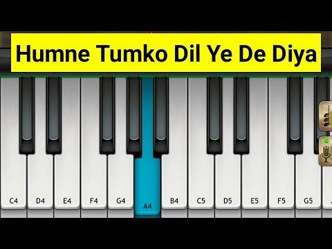 Humne Tumko Dil Ye De Diya Piano | Mini Part Piano