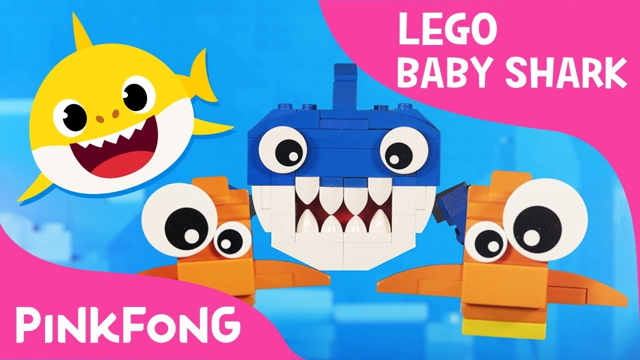 Lego Version of Baby Shark with Pixar Artist's Family | Animal Songs | Pinkfong Songs for Child
