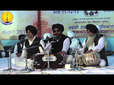 AGSS 2015 - Raag Prabati : Prof Iqbal Singh ji