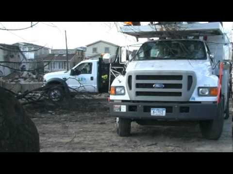 Breezy Point Video of Fire + Flood Aftermath from Hurricane Sandy November 3, 2012