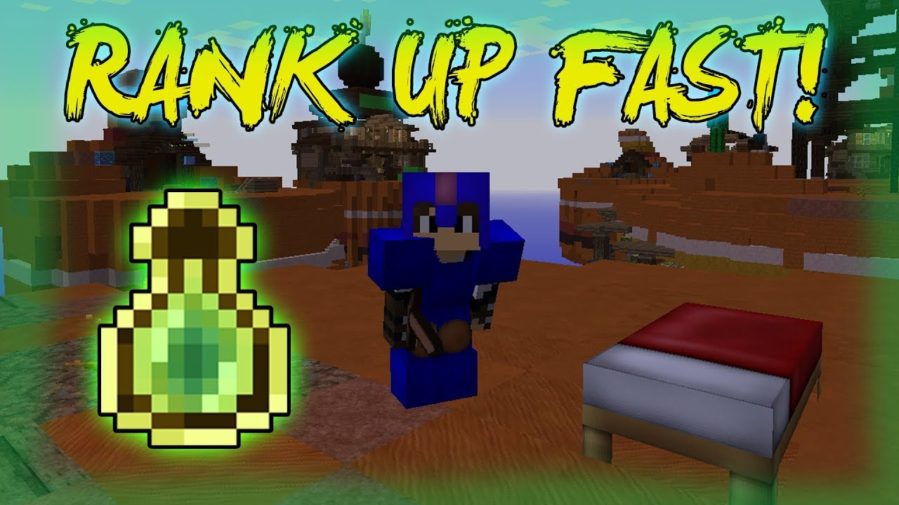 HOW TO LEVEL UP FAST IN HYPIXEL BEDWARS! RANK UP FAST!