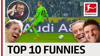 The Funniest Moments of 2017/18 - Robben, Bailey & Co.
