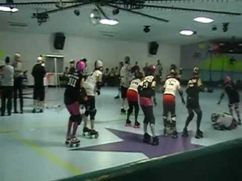 Darkside Derby -vs- South Central Roller Girls, Pt 2