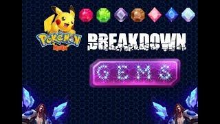 Pokemon Mega Breakdown: Gems