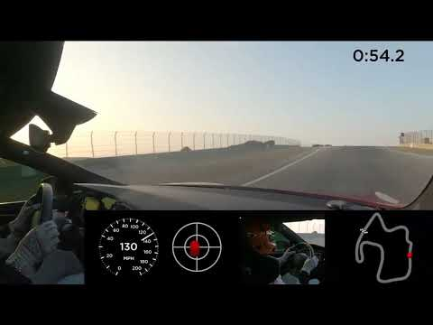 Tesla MODEL S PLAID 1100HP record lap Laguna SECA!
