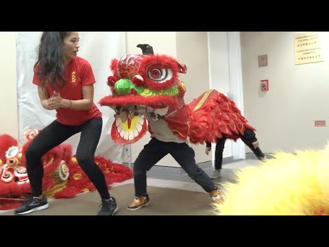 Chinese Lion Dance Attracts Growing Number of Students in U.S.