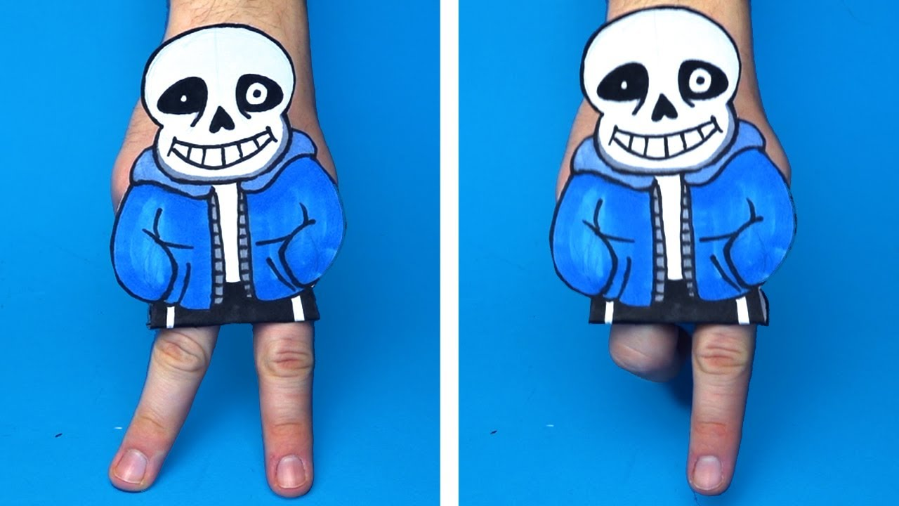 DIY UNDERTALE MAGICAL TRICKS AND MORE