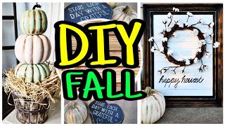 DIY Fall Decor / Fall DIY Trash To Treasure