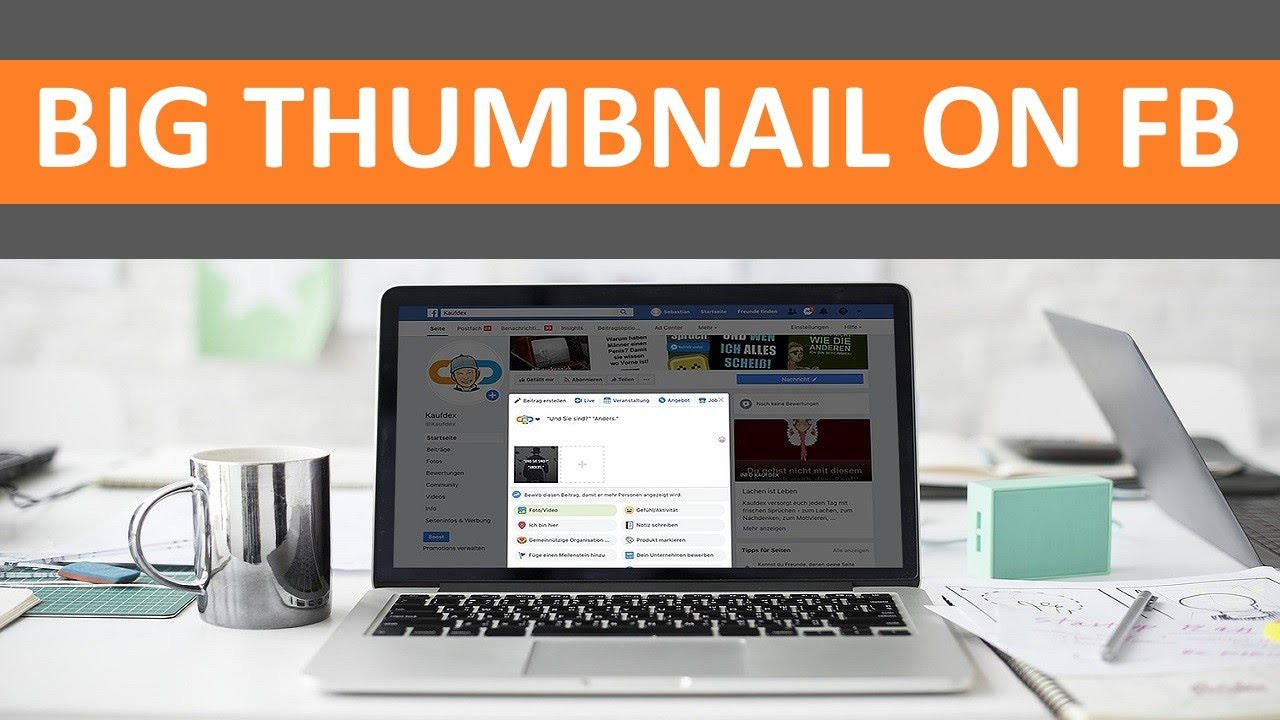 how to choose a facebook video thumbnail