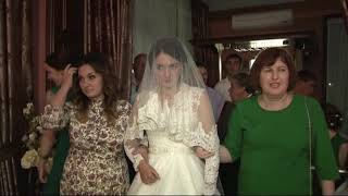 """Очень красивый свадебный обычай """"как заводят невесту"""". Кабардинская свадьба."""