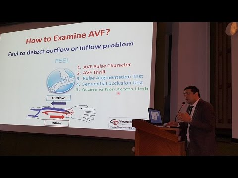 How to Examine AVF in 10 minutes dr  Mohammed Abdel Gawad
