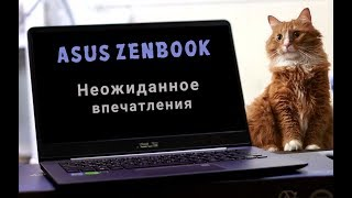 asus ZENBOOK: НЕОЖИДАННЫЕ ВПЕЧАТЛЕНИЯ