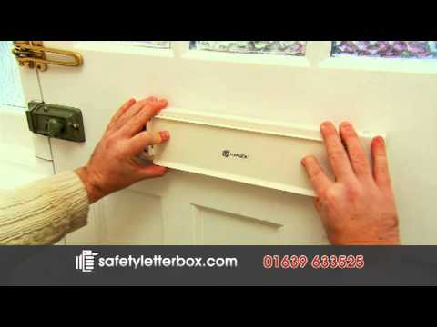 FlapLock Letterbox Security Lock - The Safety Letterbox Company
