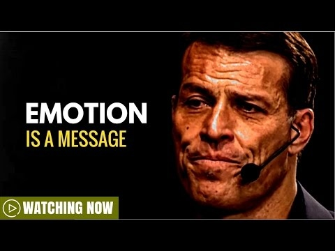 Tony Robbins: Emotion is a Message ( Tony Robbins Depression )
