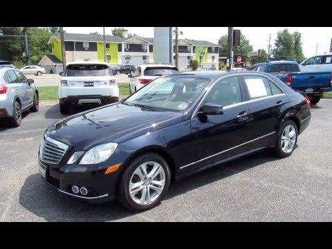 *SOLD* 2011 Mercedes-Benz E350 4Matic Walkaround, Start up, Tour and Overview