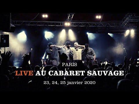 La Rue Kétanou - Live @Cabaret Sauvage - 23, 24, 25 janvier