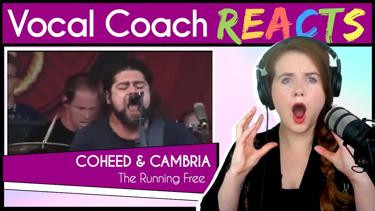 Vocal Coach reacts to Coheed and Cambria - The Running Free (Claudio Sanchez Live)