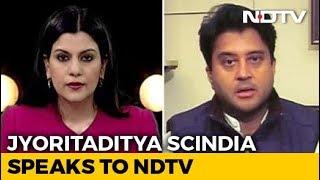 """Like My Father, No Hunger For Posts"": Jyotiraditya Scindia To NDTV"