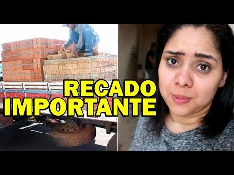 CHEGOU OS MATERIAS DA REFORMA + ACONTECEU UM IMPREVISTO / RECADO IMPORTANTE