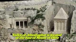עבר והווה - קברי זכריה ובני חזיר - עמק קדרון, ירושלים