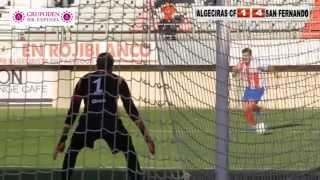 Futbol Algeciras CF San Fernando CDI