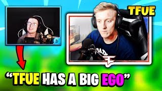 TFUE REACTS TO VIVID SHIT TALKING FaZe TFUE | Fortnite Daily Funny Moments Ep.172