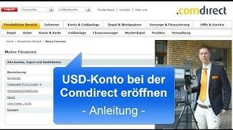 USD-Konto bei der Comdirect eröffnen | Anleitung und Tipps