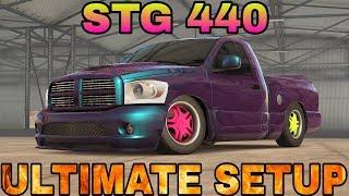 STG 440 Ultimate Setup + Test Drive! (Dodge RAM)   CarX Drift Racing