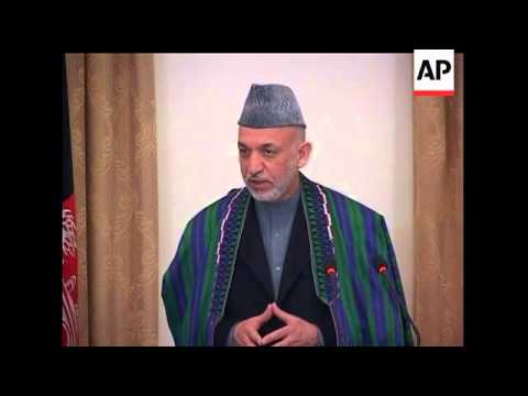 Afghan President Hamid Karzai said Tuesday it will be at least 15 years before his government can ba