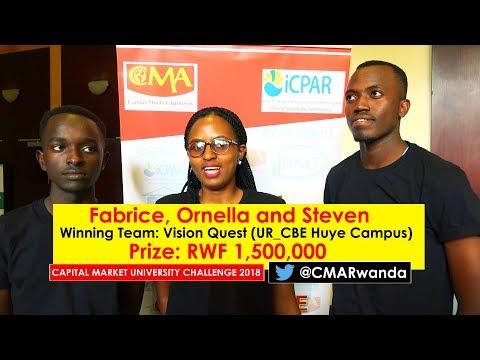 The Capital Market University Challenge 2018 Awarding Ceremony