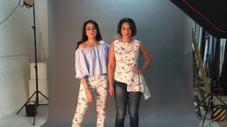 The full version of kids fashion photoshoot for Dynas Mokhtar's collection | Dynas Mokhtar